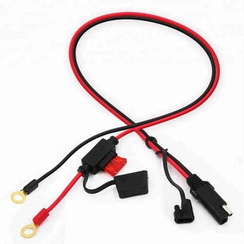 Auto Wire Car Extender Connector Quick Disconnect 2 Pin Sae 12v Fused Power Battery Cable Buy 12v Fused Battery Cable Cable 12v Power Car Battery Extender 2 Pin Connector Plug Extension Terminal Quick