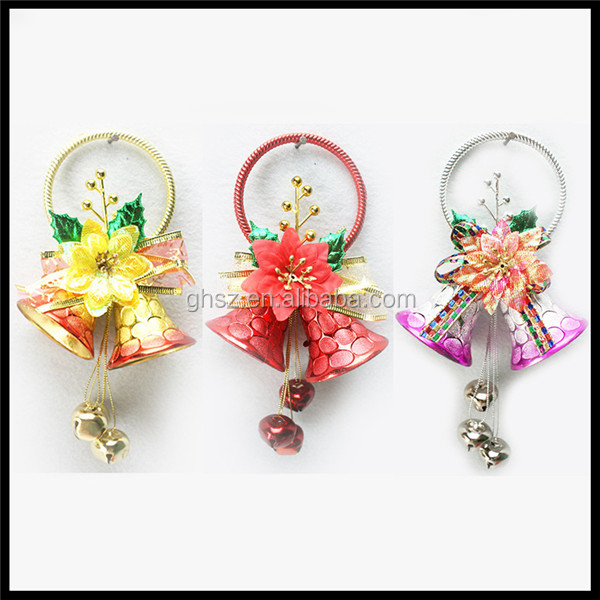 Custom christmas tree ornaments Honeycomb bell hangling decoration for sale