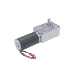 Rated Volt 12V DC worm Gear Motor Speed 12 to 470 R/Min Self-Locking Motors OEM