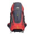 Outdoor sport bag mountaineering bag men and women waterproof backpack shoulders leisure bag large capacity 60L