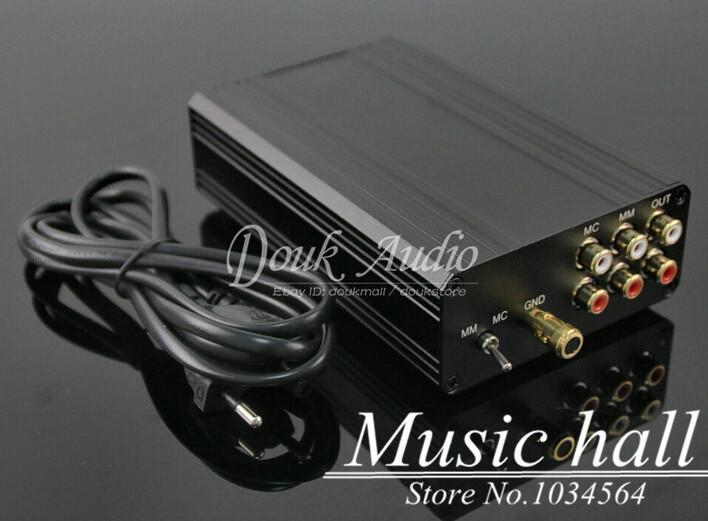 Music Hall Little Bear T8 Turntable MM MC Phono RIAA preamplifier Hifi Stereo Pre-AMP DIY Free Shipping