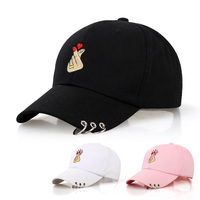 Hot Selling Cheap Korea Styles Unique Design Baseball Cap Hat With Fastest Delivery Korean Hat Caps