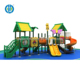 Outdoor gymnastic plastic playground equipment children slide