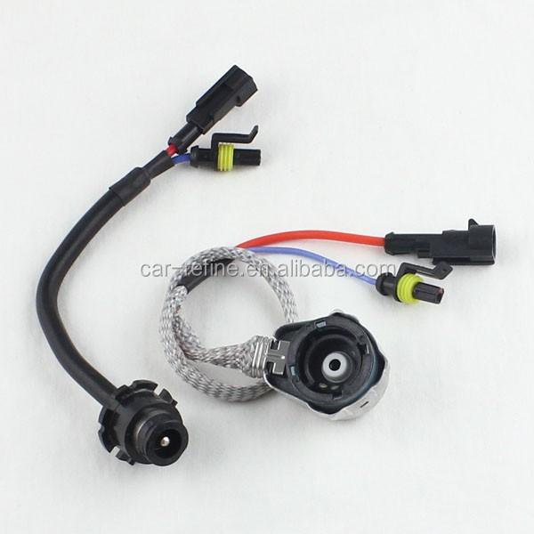 Cavo xeno 1 pz D2S presa HID lampadina adattatore D2S connettore lampadina per Xenon HID luce