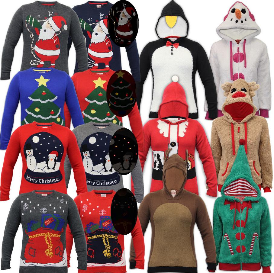 wholesale christmas jumpers xmas novelty santa hood borgmens ladies christmas sweater knitting patterns buy christmas sweater knitting patternswholesale - Christmas Wholesale