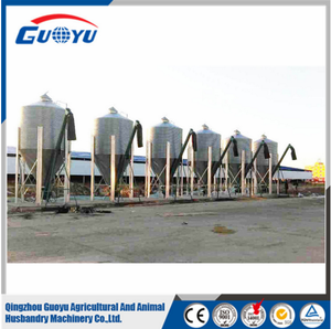 Small Steel Galvanized Used Grain Storage Silo For Poultry Pig