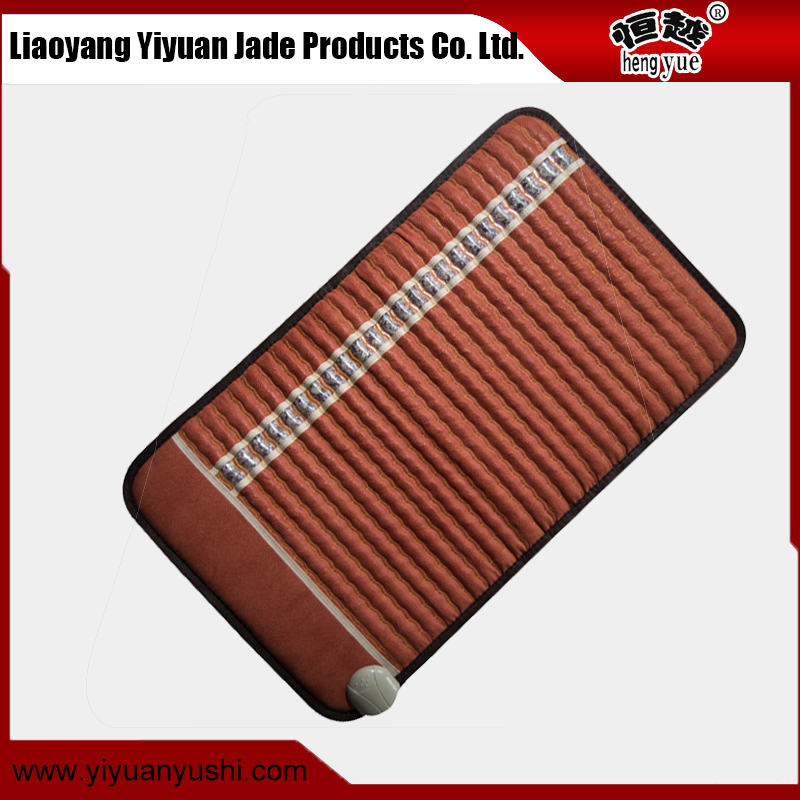 Factory wholesale directly dirt-resistant improve memory negative ion amethyst heating massage mat