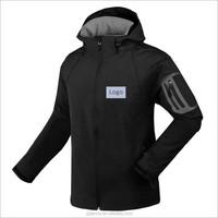 Outdoor Water Proof Windbreaker Breathable Pocket Hooded Mountain Jacket Winter Jacket Man