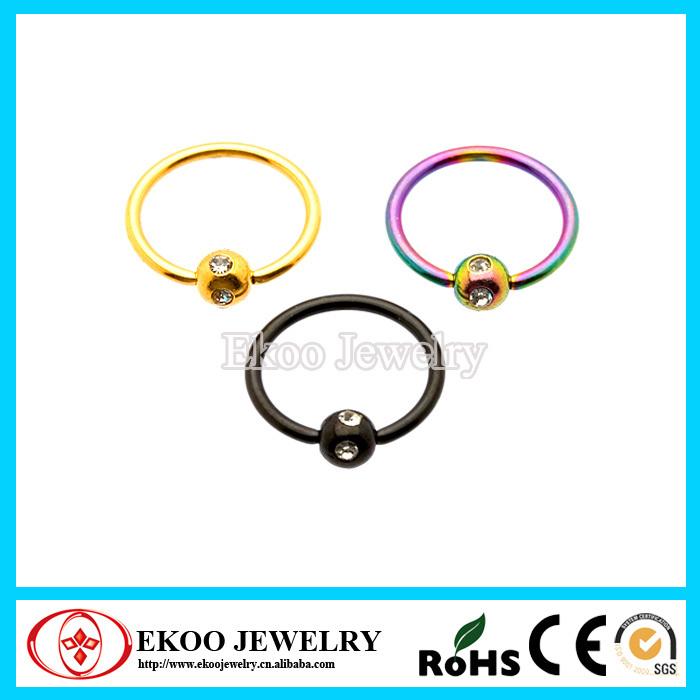 Captive ring vagina jewelry