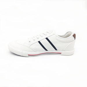 Custom Shoes Manufacturers Men Sport Brand White Canvas Running Shoes