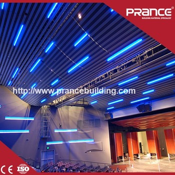 factory peice Aluminum Acoustic Suspended Ceiling Tiles