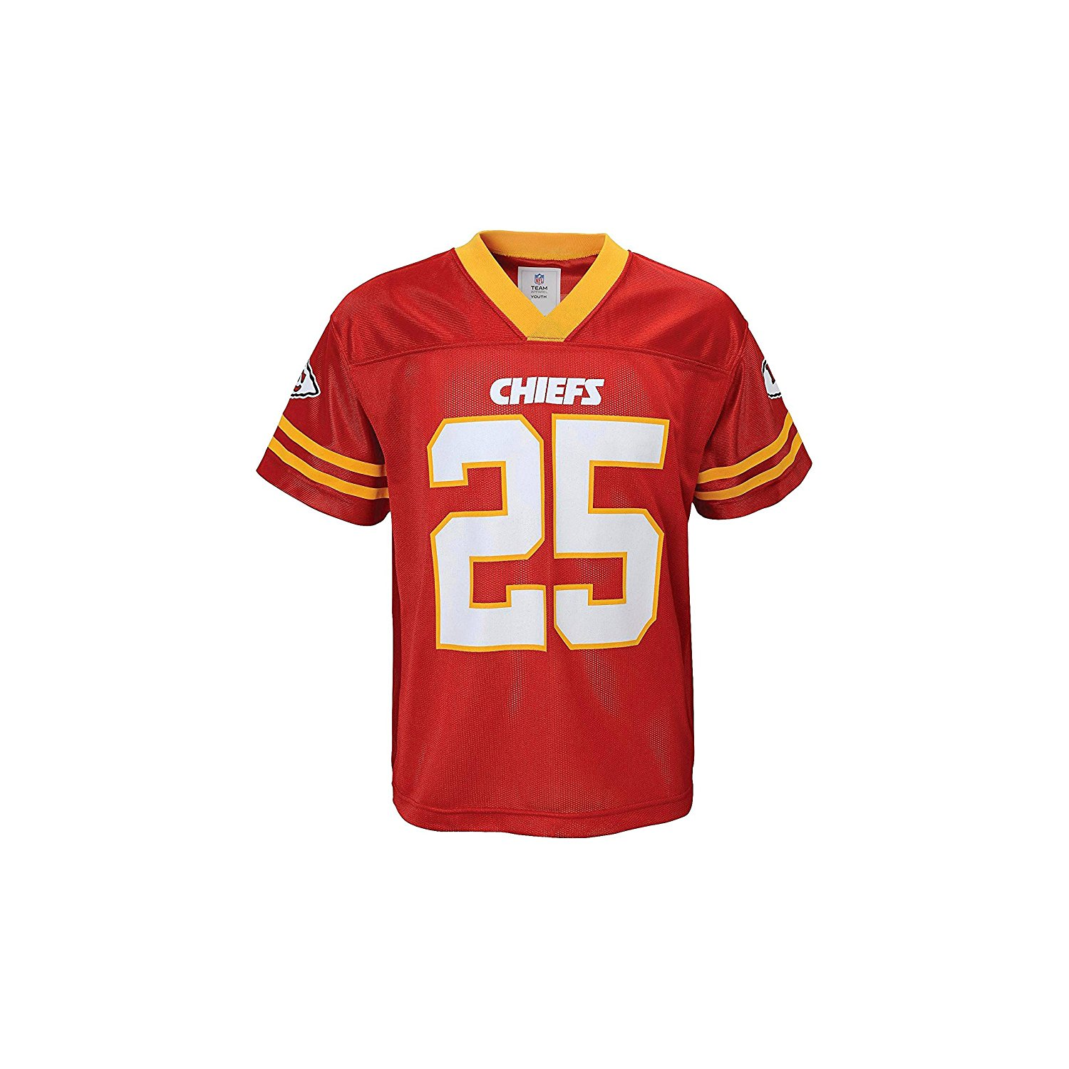 Get Quotations · Jamaal Charles Kansas City Chiefs Red Toddler Player Home  Jersey db89d402e