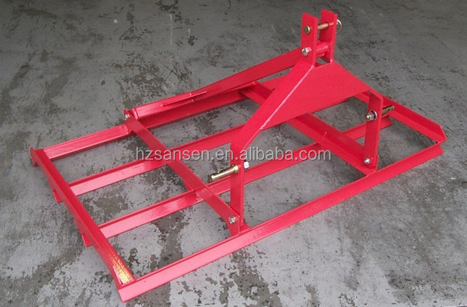 3 pt tractor mounted hitch linkage farm land leveler,Agriculture Land Leveling equipment,compact tractor rear garden leveller