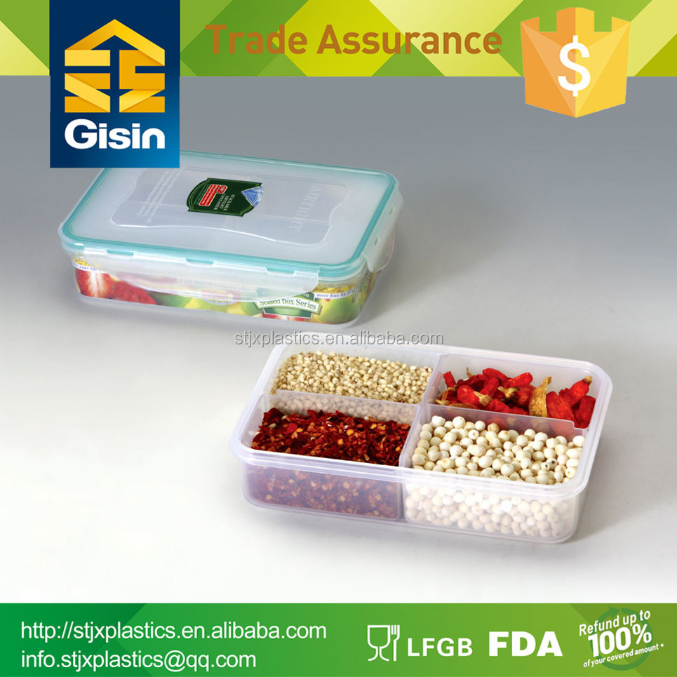 Clear Plastic Storage Box With Dividers Supplieranufacturers At Alibaba