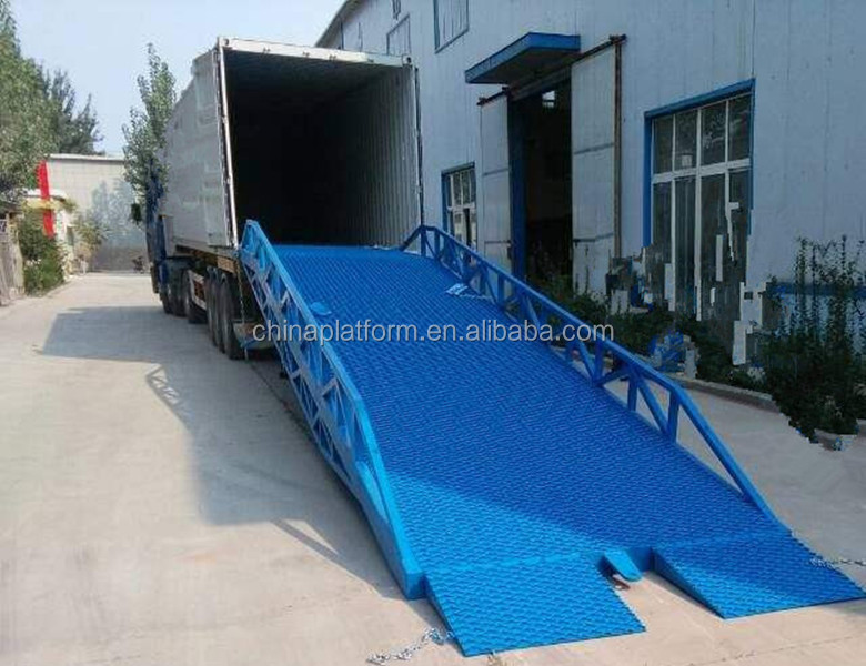 Top Level Container Loading Dock Ramp Slope/ Mobile Loading Yard Ramp For  Sale - Buy Mobile Yard Ramp,Used Loading Dock Ramp,Mobile Container Load