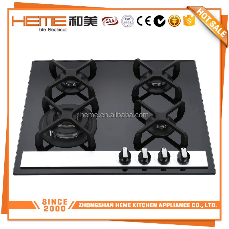 New Recommended 60cm Cast iron pan support restaurant kitchen gas cooking range (PG6041G-ECBA)