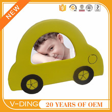 vding from China professional supplier of high quality leather picture frames for children to use at home car shape design