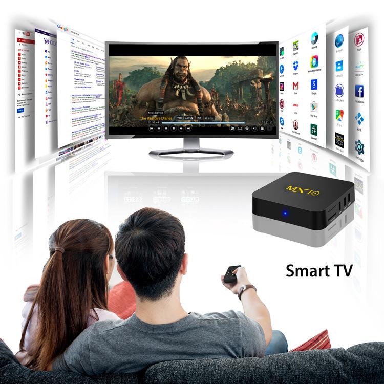Android スマート Tv ボックス、 Amlogic Coretx-A53 、 Hd 1080 P/WIFI/RJ45