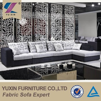 Luxury Italian Fabric Wooden Sofa Furniture Exotic Italy Living Room Set Designs