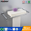 Modern bathroom accessories towel racks brass towel shelf bamboo ladder towel rack