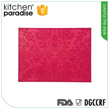 Flgb Certification And Heat Resistant Silicone Kitchen Mat/hot Pad ...