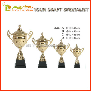 New Design Sports Awards Metal Trophies Cup Large in 2016 hot sell