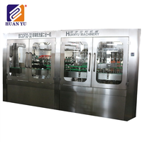 Factory directly small scale pet bottle juice hot filling machine with ISO9001 Certificate
