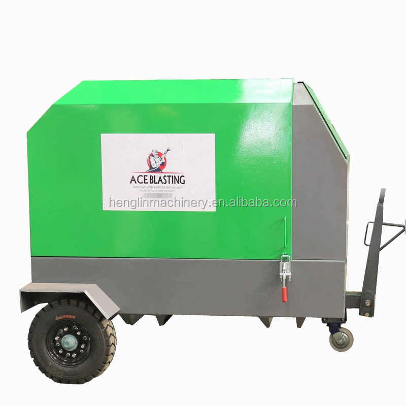 185 CFM air compressor for dustless blasting machine, air compressor for sand blasting