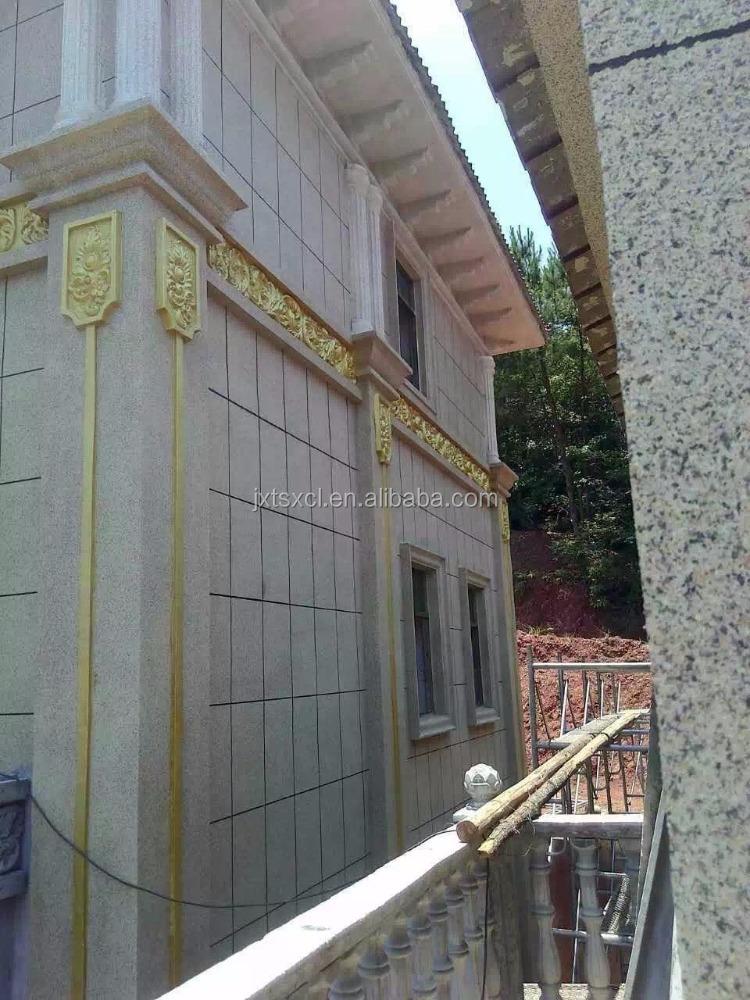 Esterno liquido granito effetto imitazione texture muro for Vernice muro