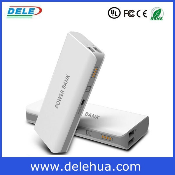 best power bank brand dele power 10400 mah with external battery