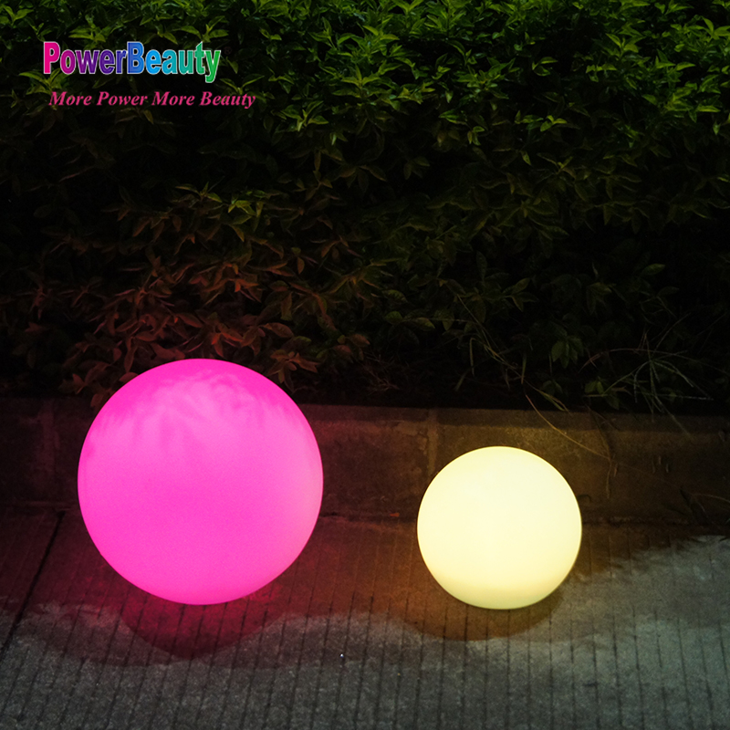 RGB color changing outside light orb remote control ceiling sphere ball