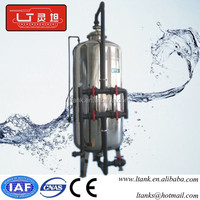 Industrial water treatment Stainless Steel Sand Filter Water Filter Housing
