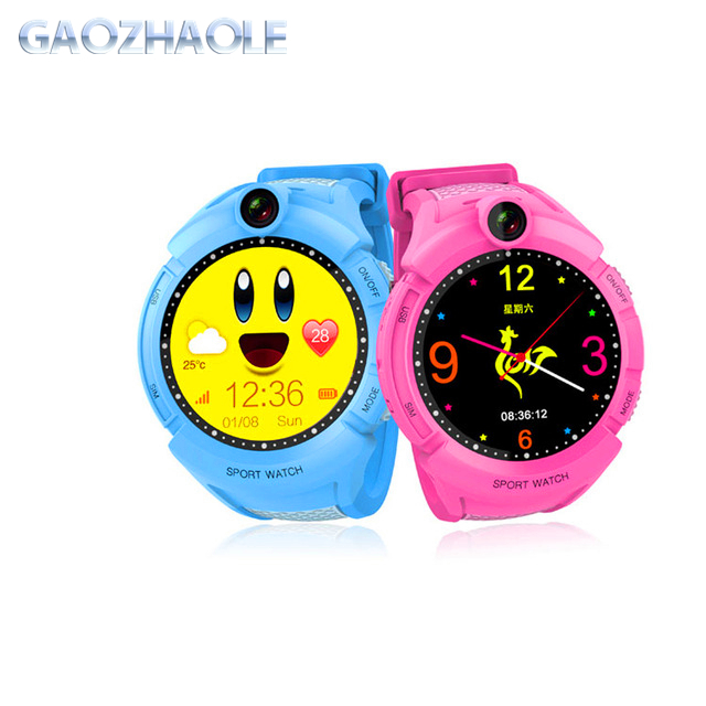 2018 Hot Sale GPS Smart Watch Kids Q360 SOS Call Location Finder Children Smart Electronic Baby Watch Q360 with camera фото