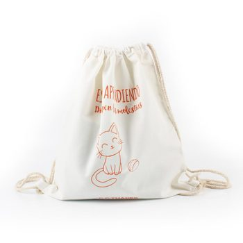 Original practical cotton drawstring bag