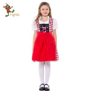 1d4e666dbfa An oktoberfest girl costume cosplay German beer costume for children dress  PGCC5776