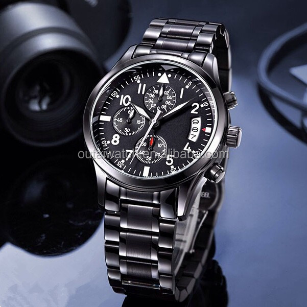 5ATM water proof luxury watch.China watch with OEM brand