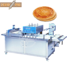 Frozen plain paratha pressing filming machine fully automatic multifunctional including stacking for roti chapati industries