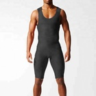 Custom Logo Swimwear Wrestling Singlet Gym Power Weight Lifting Outfit Man Tights One Piece swimsuit