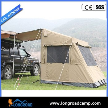 3-4 person car roof top tent 4x4 accessories Offroad Car c&er side awnings & 3-4 Person Car Roof Top Tent 4x4 Accessories Offroad Car Camper ...