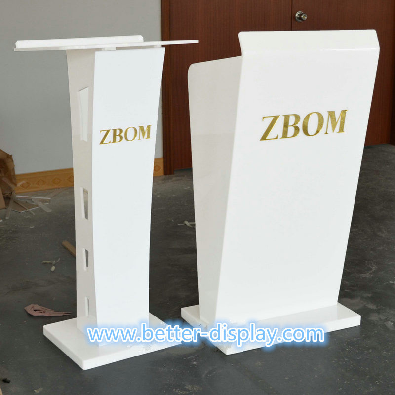 Professional manufacturers acrylic clear plastic church podium