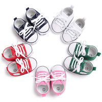 Fashion dress shoes new arrival hot selling canvas unisex baby shoes