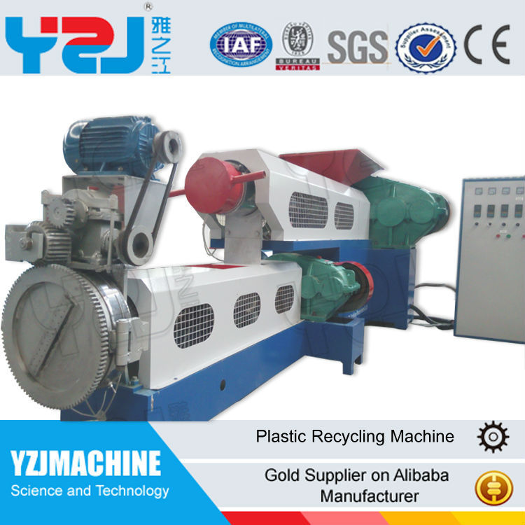 Waste PP PE ABS film woven bag plastic recycling machine