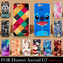 For Huawei Ascend G7 Case Hard Plastic Cellphone Mask Case Protective Cover Housing Skin Mask Shipping Free