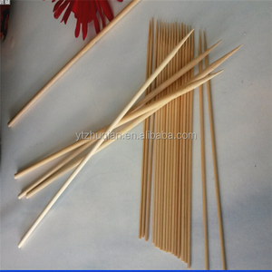 Big BBQ use natural mao bamboo long bamboo marshmallow roasting sticks