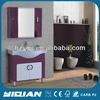 Shining Purple Floor Standing Round Leg Bathroom Furniture Design