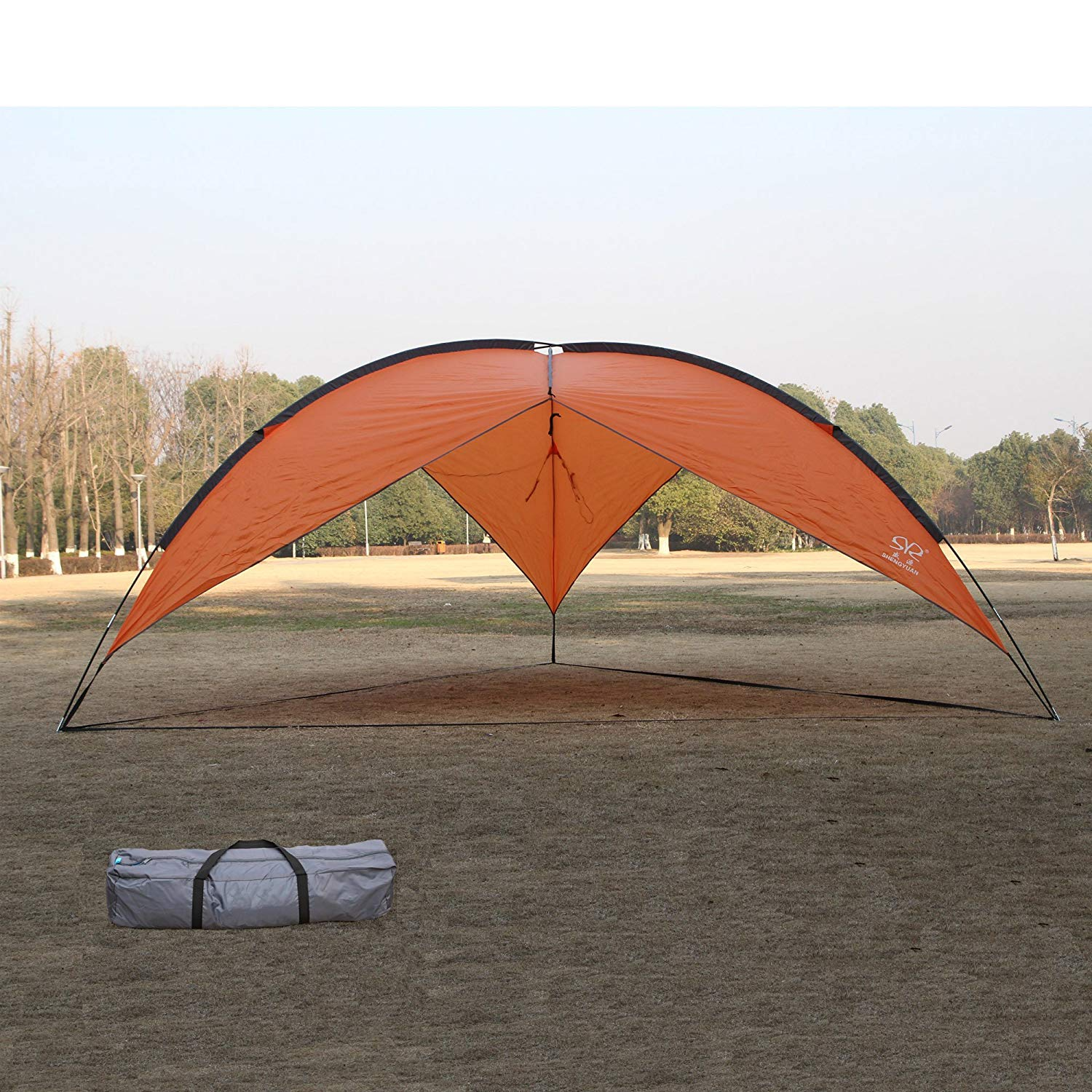 Get Quotations Lucky Tree Large Family Beach Canopy Tent Sun Shelter Easy Set Up Shade Lightweight And