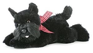 """Aurora World Flopsie Mr. Nick Plush Scotty Dog, 12"""""""