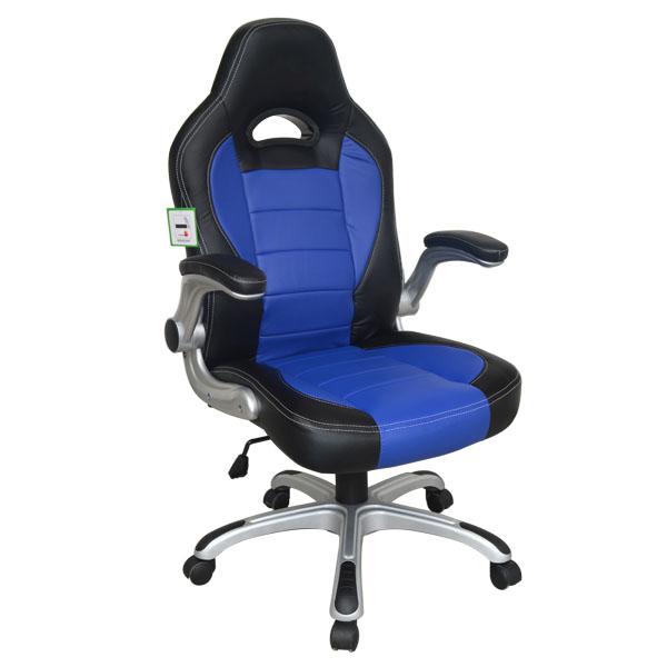 Asiento de coche de carreras estilo oficina silla de la for Silla computadora