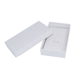 OEM Acceptable Elastic and Cardboard Insert Blank Neutral Packing Box for Watch