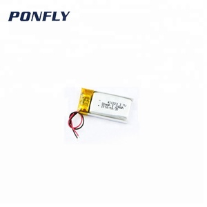 3.7v 90mah lipo battery rechargeable smallest mini battery 411223